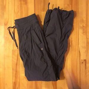 LULULEMON Studio pants grey sz 2 unlined
